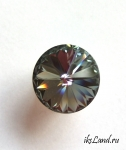 Swarovski Rivoli, 14мм, цвет Black Diamond
