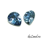 Swarovski капля 4320, 14*10мм, цвет Denim Blue, 1шт.